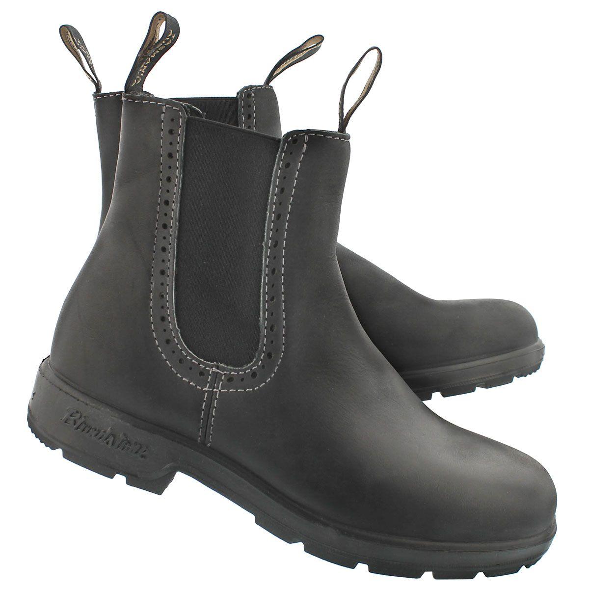 4fb4db83192c Blundstone Women s GIRLFRIEND black pull on boots 1448