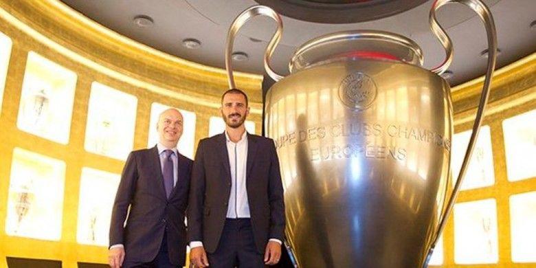 AC Milan Resmi Dapatkan Bonucci dari Juventus