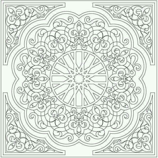 Mexican | embroidery | Pinterest | Mexicans, Mandala and Adult coloring