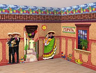 fiesta theme party decorations fiesta party - Mexican Fiesta Decorations