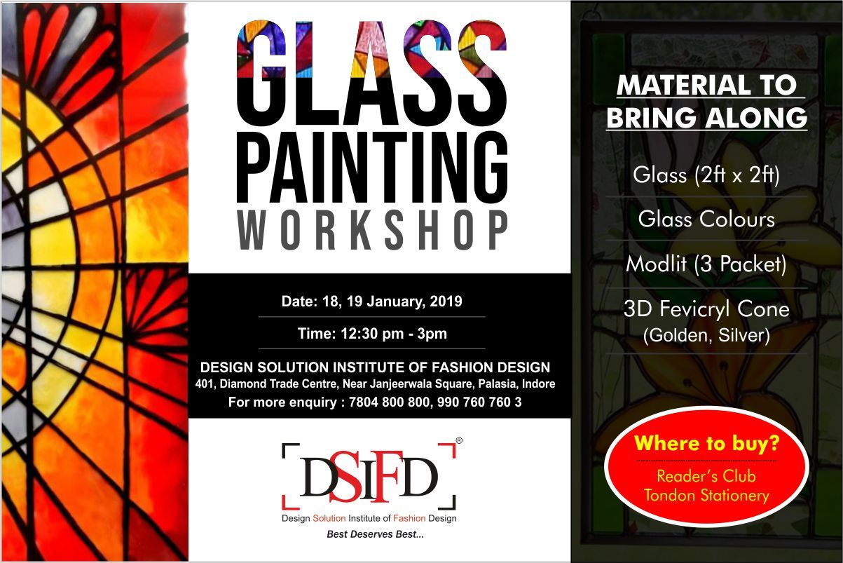 Design Solution Institute Of Fashion Designing In India Design Solutions Fashion Designing Colleges Glass Painting