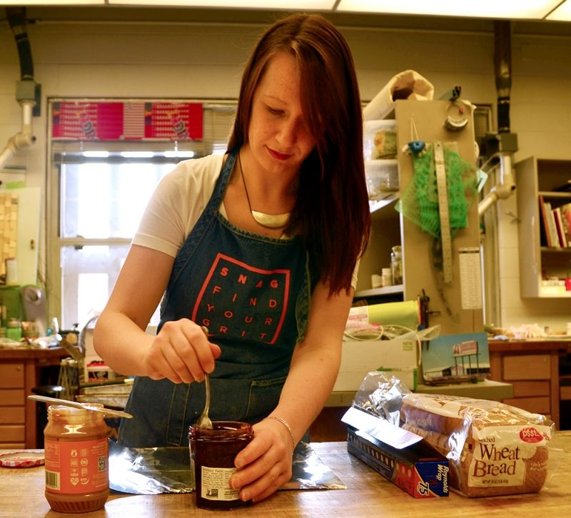 Art student turns her daily lunch routine into art | Indiana Daily Student