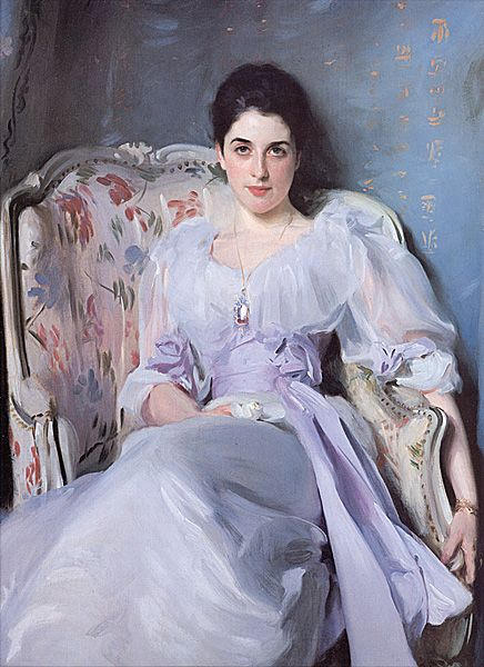 Lady Agnew    by John Singer Sargent (1856-1925)