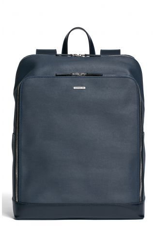 Coated twill backpack
