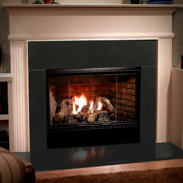 Majestic Reveal 42 B Vent Gas Fireplace Rbv4842 In 2020 Gas