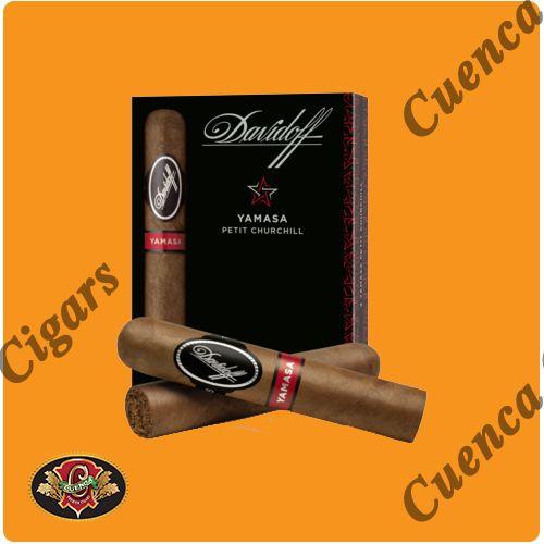 Davidoff Yamasa Petit Churchill Cigars - Box of 4 - Price: $42.90