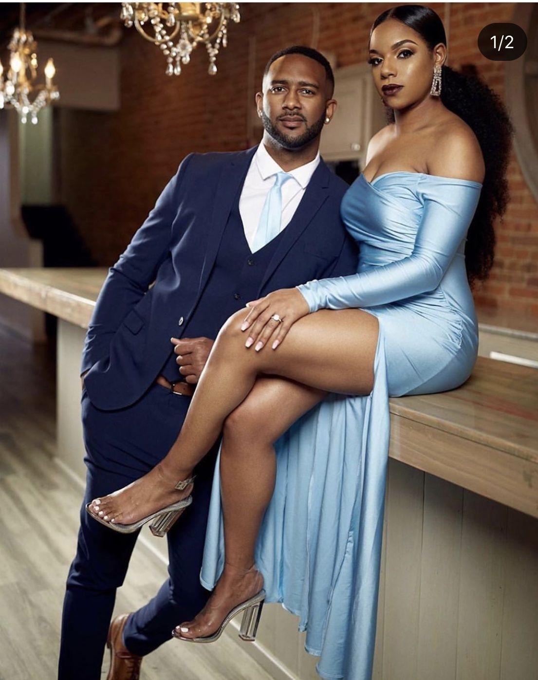 Black love, black engagement, melanin wedding, African