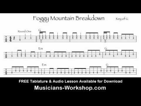 Foggy Mountain Breakdown Mandolin Lesson With Tab | Play: Mandolin ...