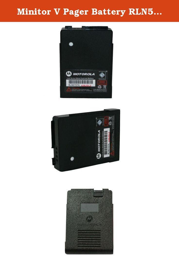 Minitor V Pager Battery Rln5707 Motorola Oem 3 6 Volt 650mah Nickel Metal Hydride Minitor V Pager Battery Rln5707 Motorola Oem 3 6 Vol Pagers Motorola Battery