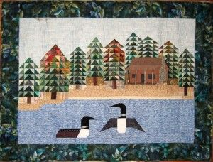 Loon Quilt | Quilting | Pinterest | Bird quilt, Quilted wall ... : loon quilt pattern - Adamdwight.com