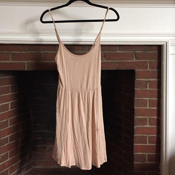 Blush pink Brandy Melville cotton dress Blush pink Brandy Melville cotton dress Brandy Melville Dresses Mini