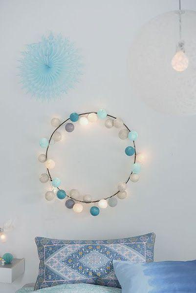 cordao de luz azul