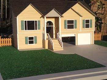 Mini Homes For Kids With Doors Google Search Miniature House