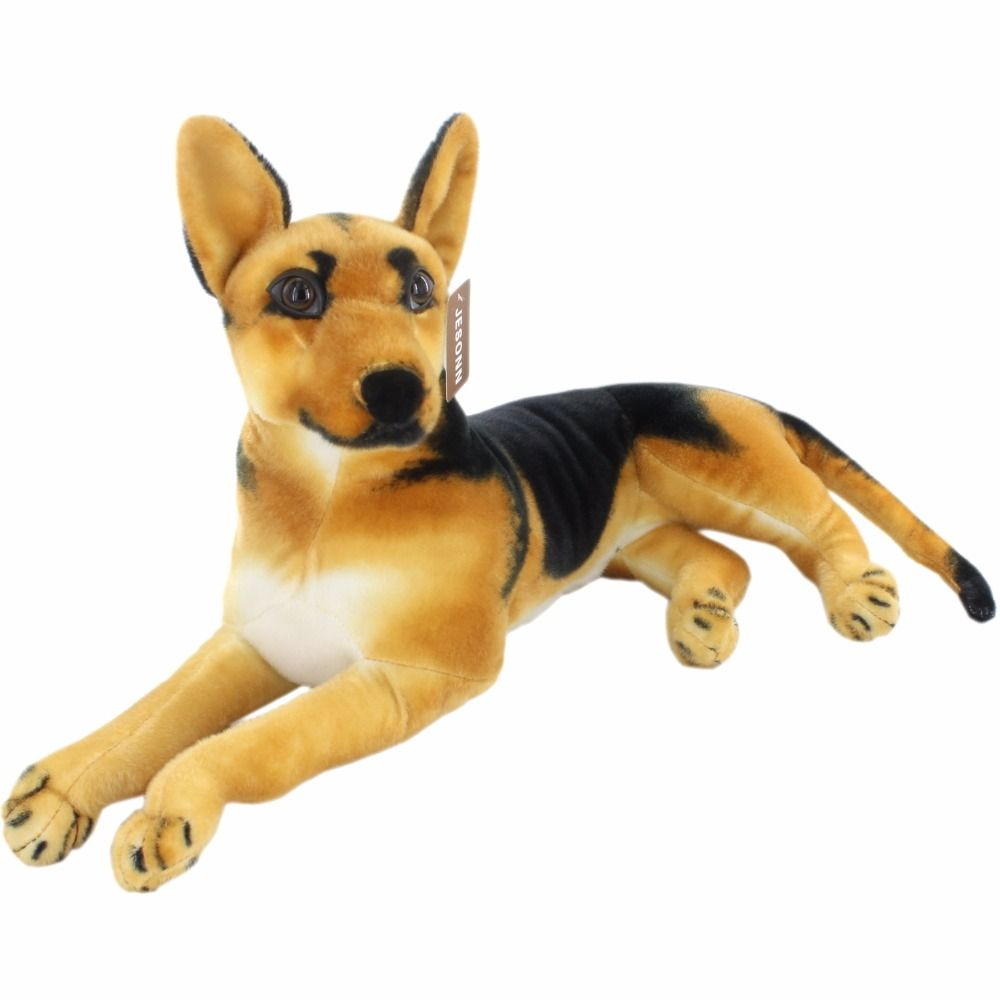 Jesonn Realistic Stuffed Animals Dog Shepherd Plush Toys German