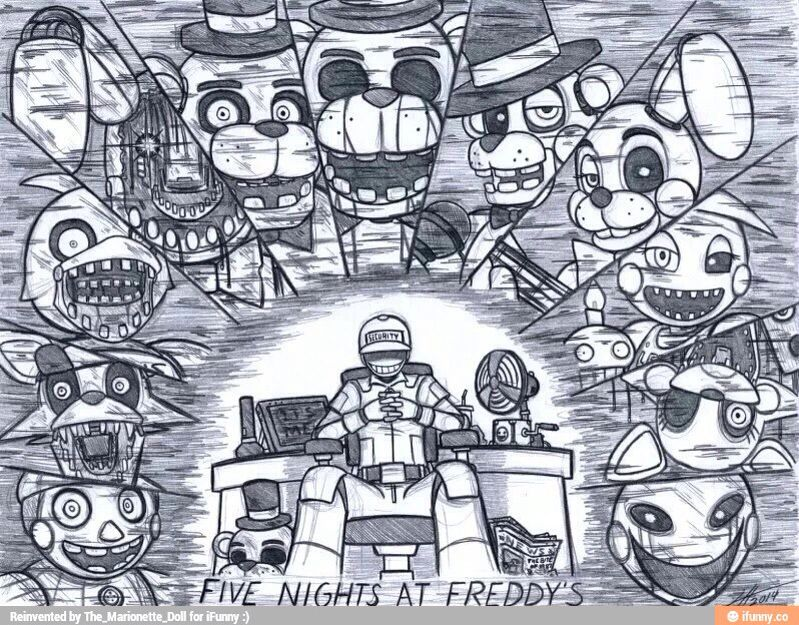 This Was Cool Five Nights At Freddys Fnaf Five Nights At