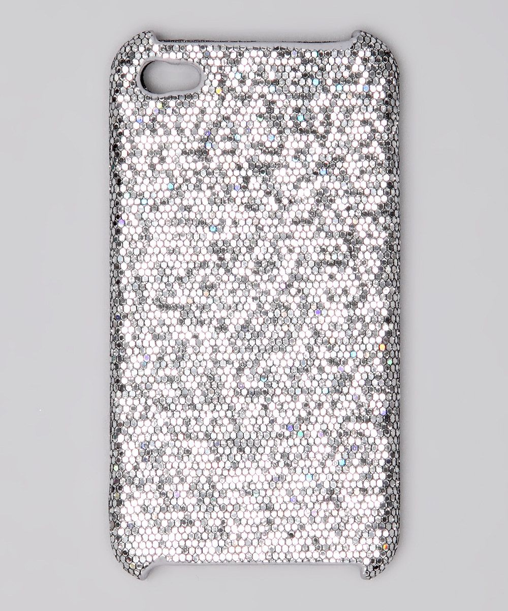 #fall #zulily iCover Silver Glitter Case for iPhone 4/4S fall essentials kids zulily