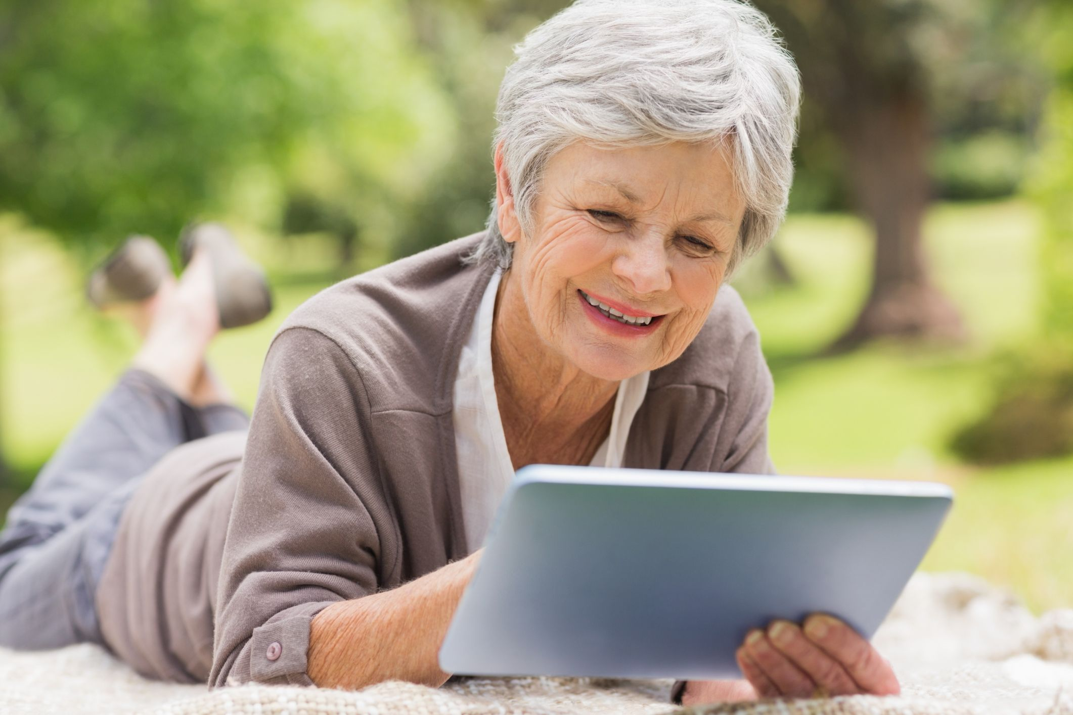 Games on the iPad for Older People Digital tablet