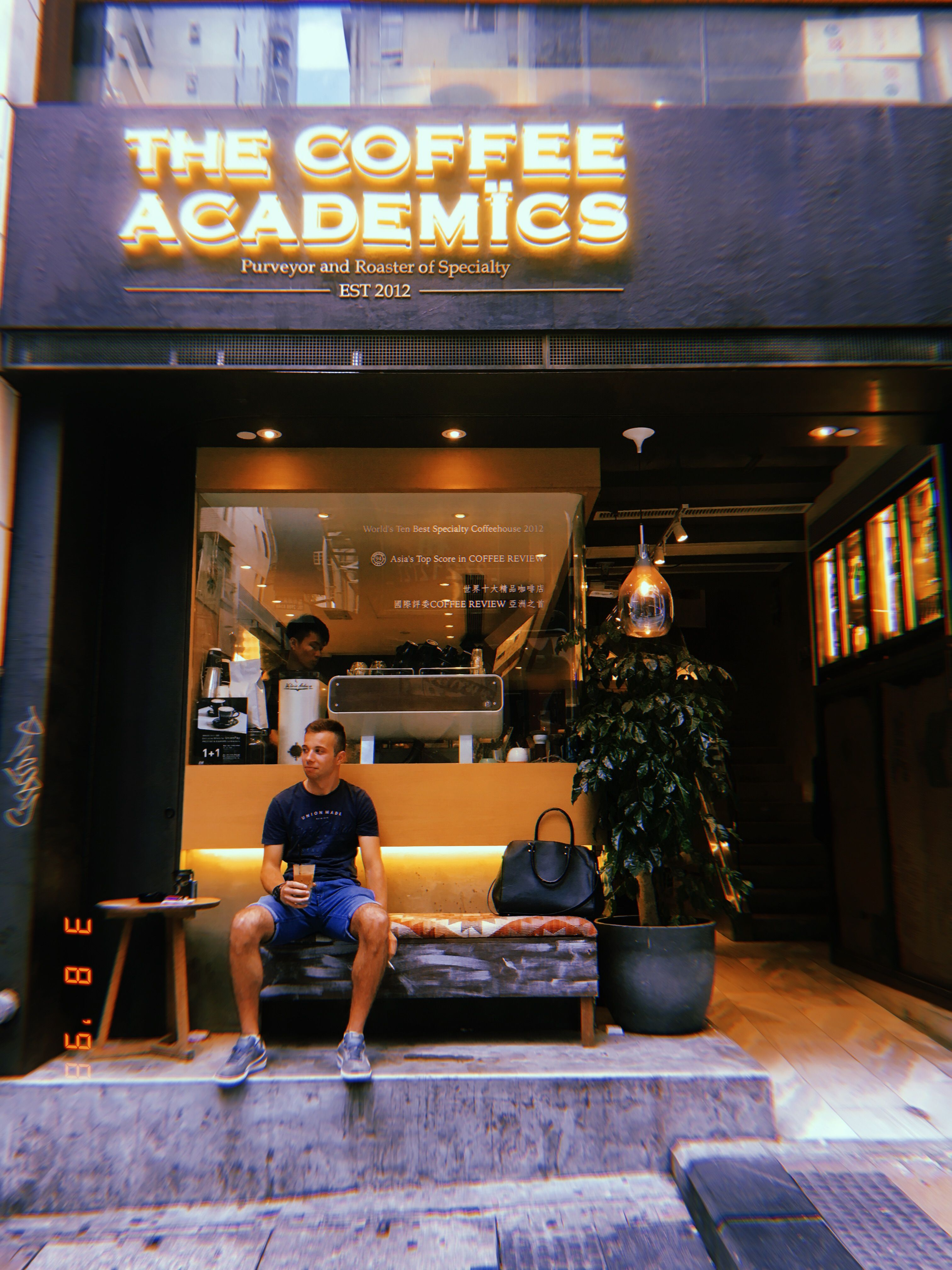 Coffee Academics Cafe Central Hong Kong Travel Photography Food Things To Do In Instagram Fashion Hot Hong Kong Travel Photography Nyc Bars Central Hong Kong