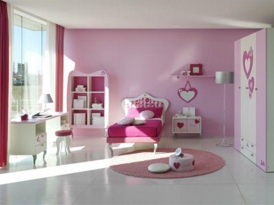 decorar habitación niña color rosa   decoración casa   Pinterest ...