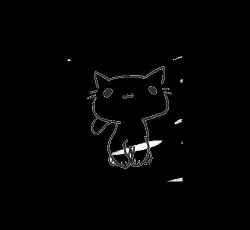 Large Png 500 460 Dancing Cat Crazy Cats Cat Drawing