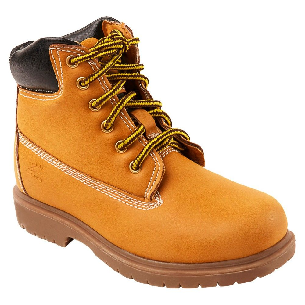 Boys' Deer Stags Mack 2 Water Proof Occupational Boots Tan