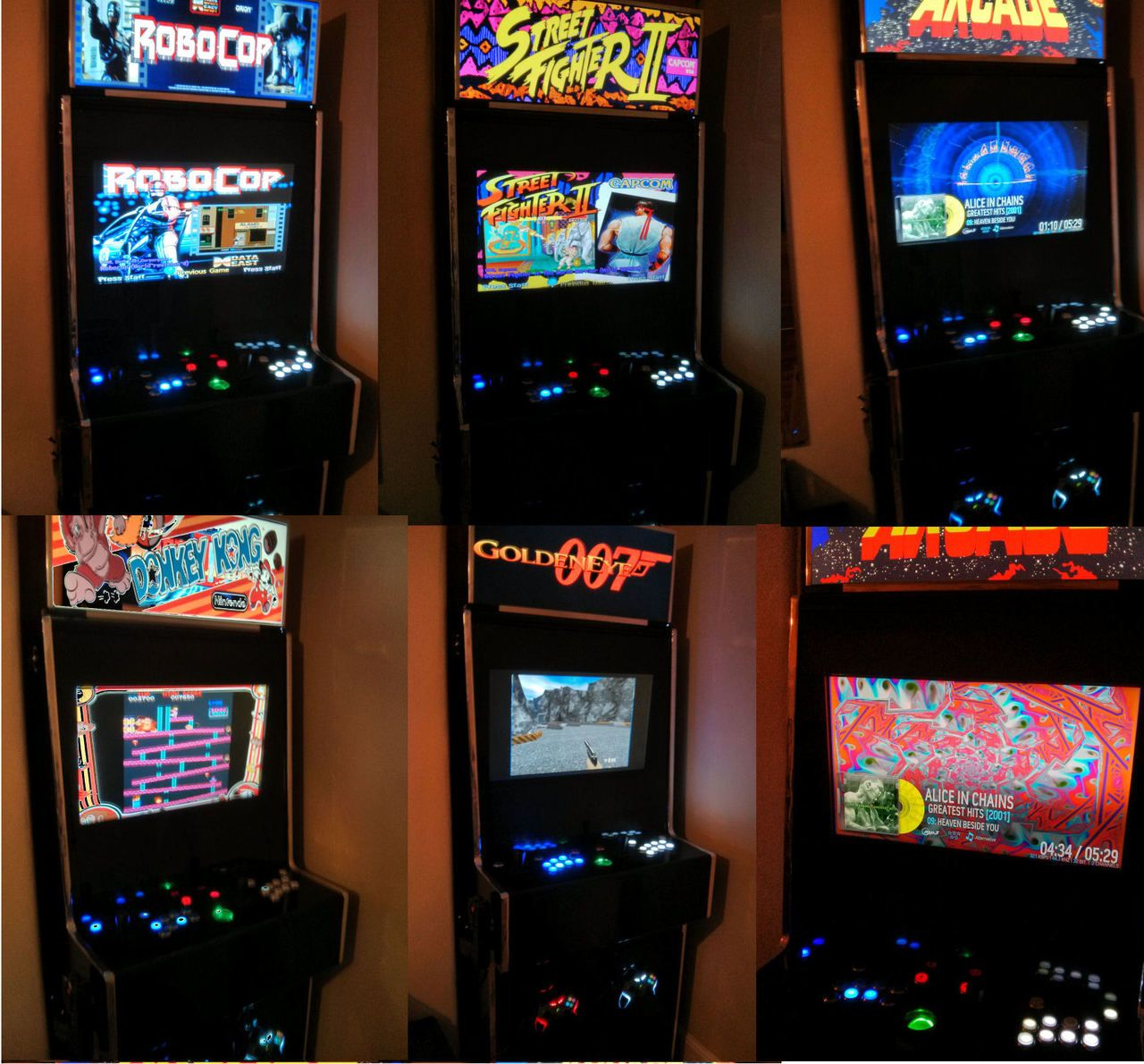 LED Marquee - HyperSpin Cabinets and Projects - HyperSpin