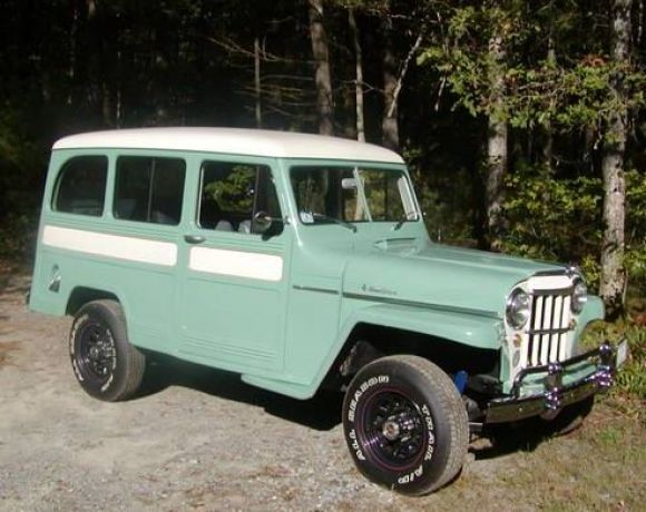 1952 Willys Jeep Station Wagon Willys Jeep Jeep Truck Willys