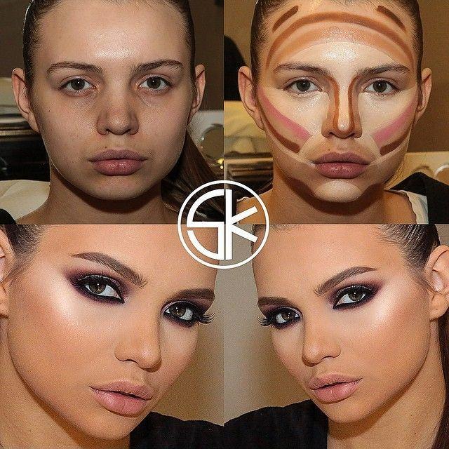 Makeup Tips with Makeup Contouring Tutorial with Face Contouring ...