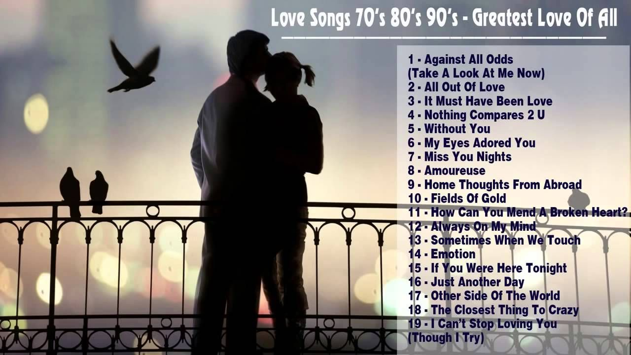 The Best Of Love Songs 70s 80s 90s Greatest All Time
