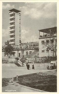 Der neu erbaute Müggeltrum 1961