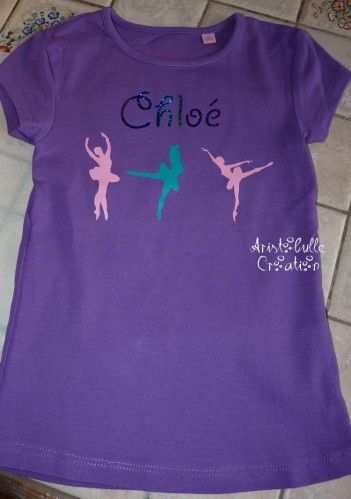 T-shirt danseuse