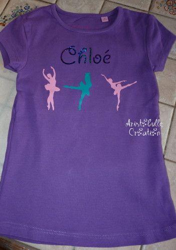 T-shirt danseuse