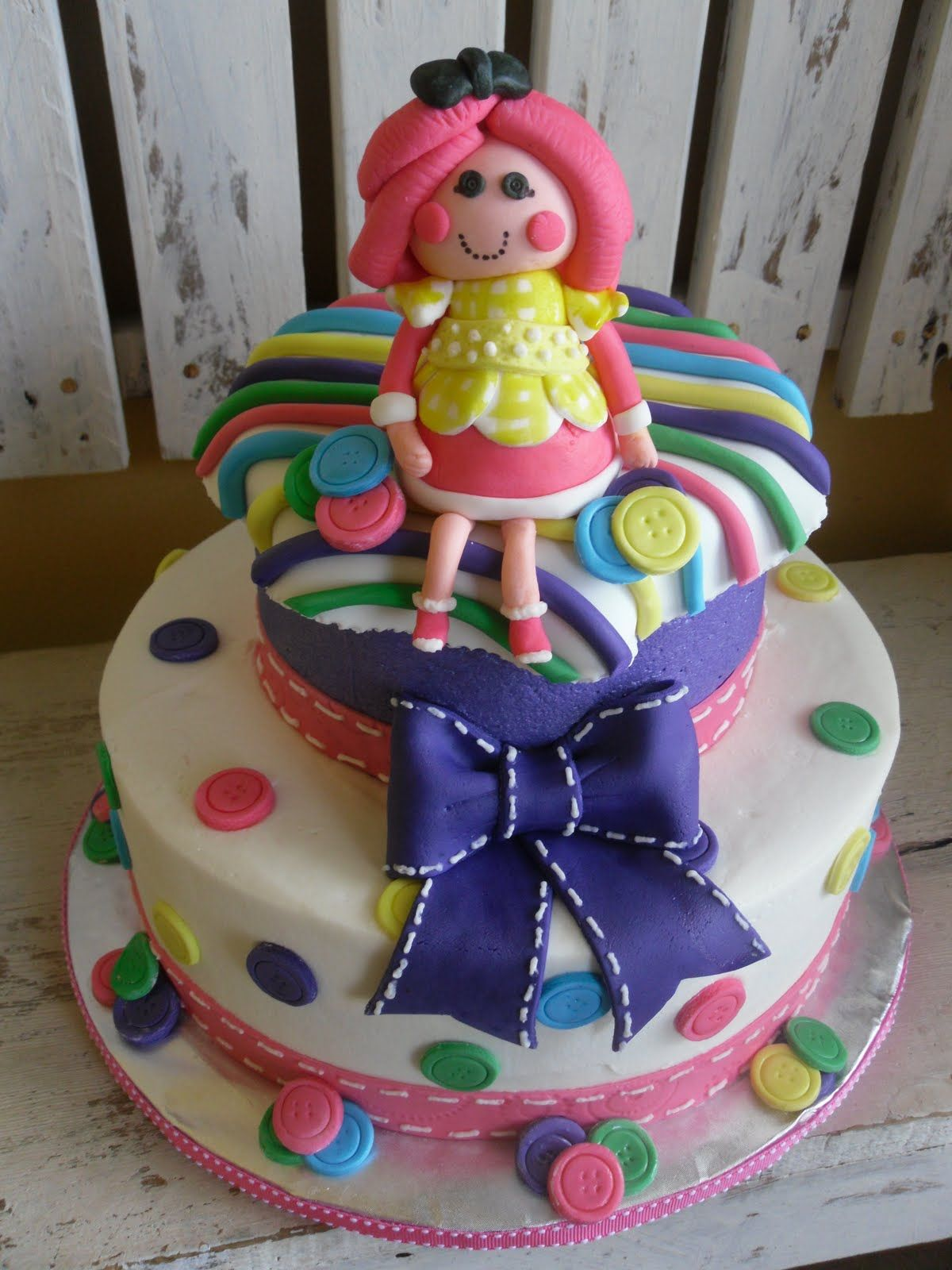 Lalaloopsy Birthday Cake so cute Cakes and Cupcakes for Kids