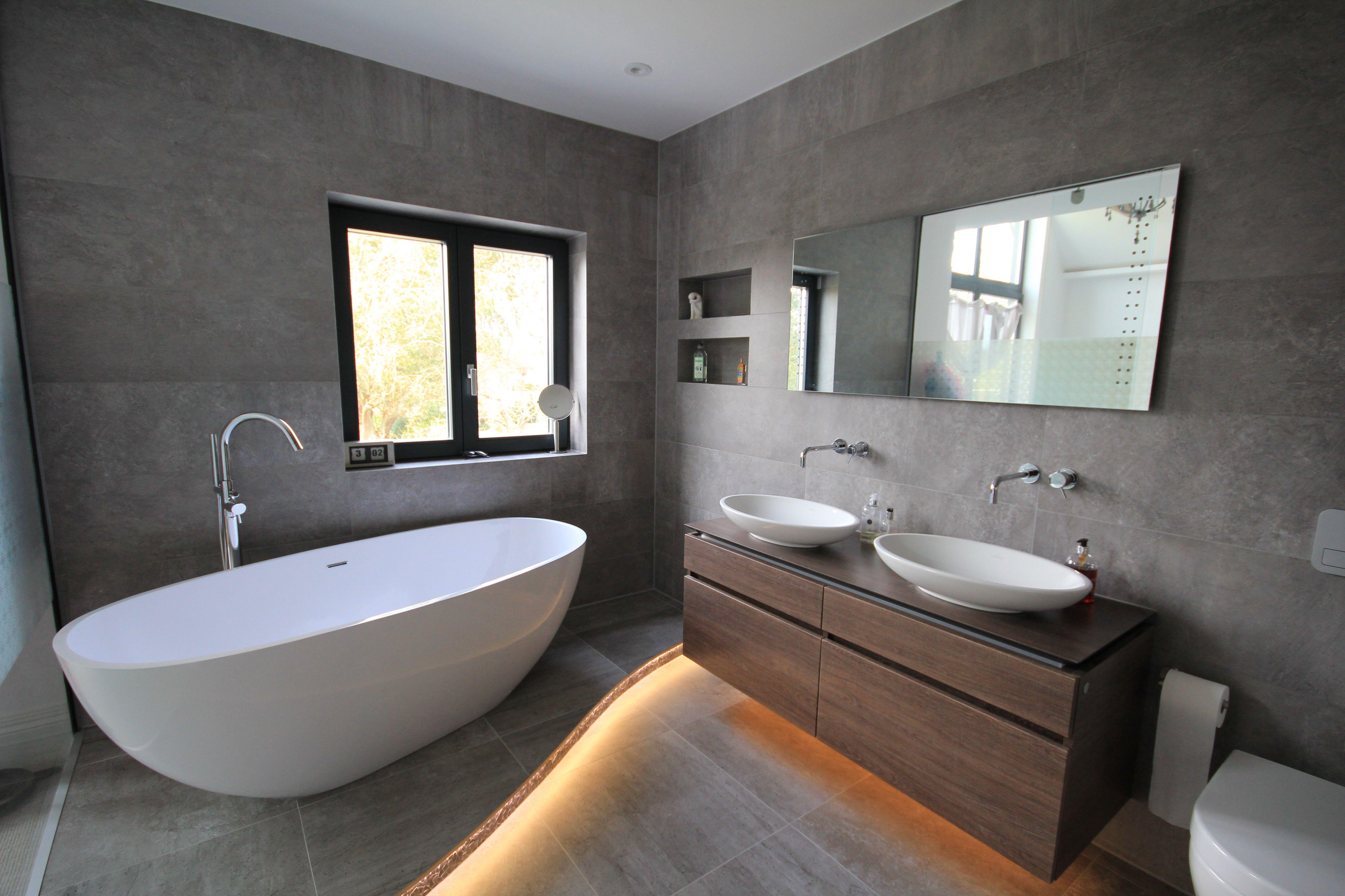 Cobham Based Design Build Contractor Bathroom Led Strip Lights Building Design House Design