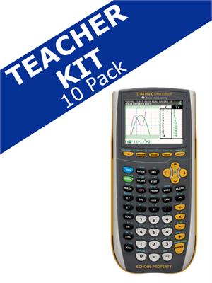 Texas Instruments TI 84 Plus C Silver EZ Spot Teacher Kit