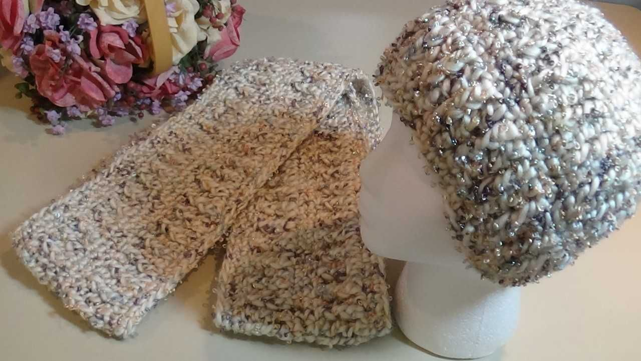 Snow Queen Hat & Infinity Scarf Pattern Set #queenshats