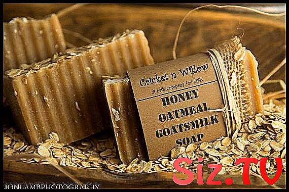 Oatmeal Honey Goats Milk Handmade Soap for Face Bo