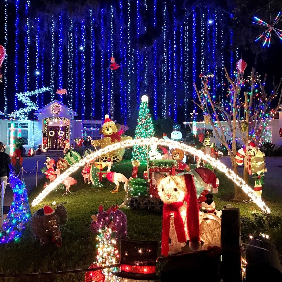 Christmas Lights In Jacksonville Florida Christmas Lights Beach Mom Jacksonville Beach