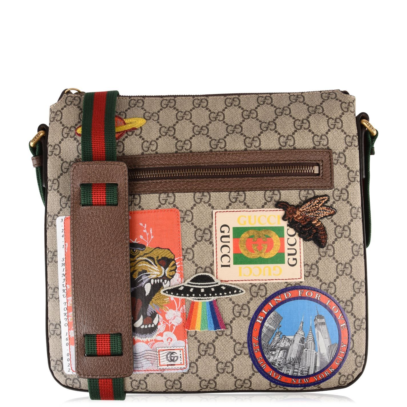 bddea192ccd6 Gucci | GG Supreme Patch Messenger Bag | spring 2019 PATCHES other ...