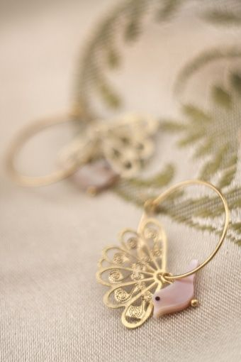 I love the delicate vintage inspired handmade jewellery by Petra Reijrink