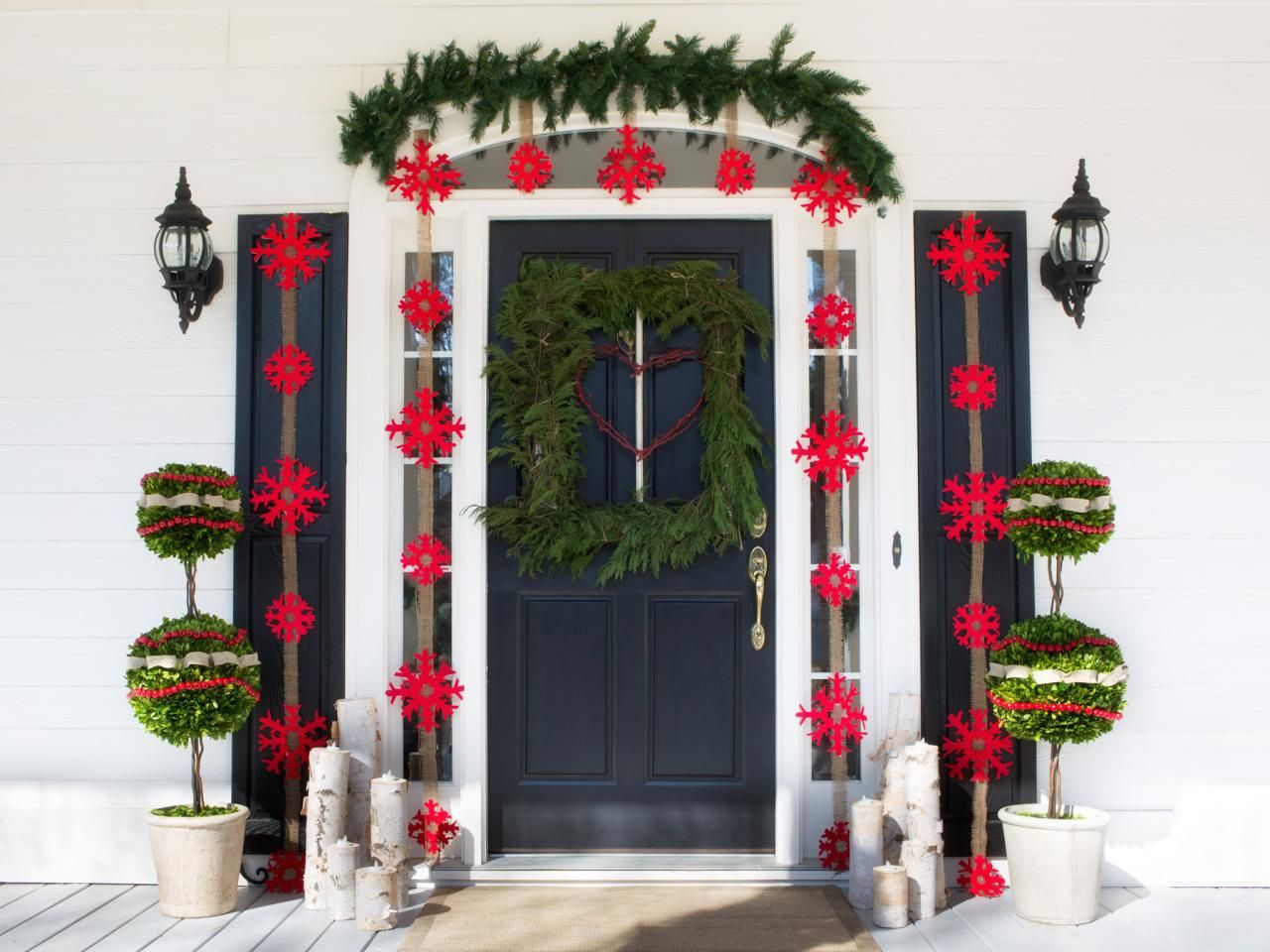 Outdoor Holiday Decorations Christmas Porch Decor Holiday Decor Christmas Outdoor Holiday Decor