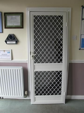 Security Screen Door e-security doors   screen doors and security doors   pinterest
