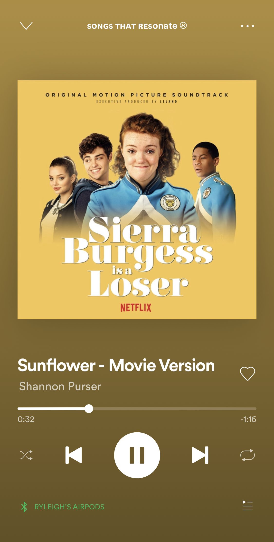 sunflower shannon purser in 2020 Song suggestions