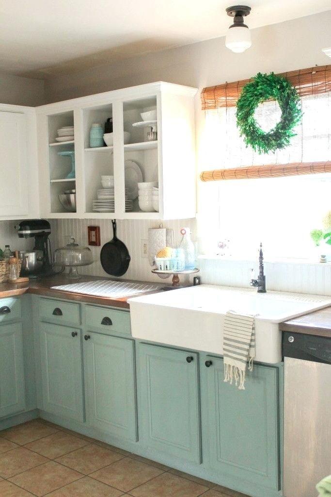 Image result for wonderful duck egg blue kitchen cabinets ...