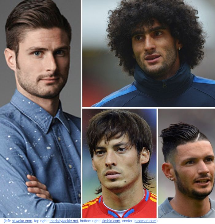 Soccer Players Have The Best Haircuts Mens Pinterest Soccer