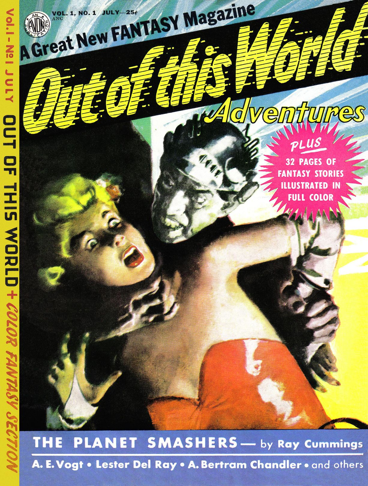Digital Comic Museum Comic Viewer: Out of This World Adventures 001  [1950-07.Avon]