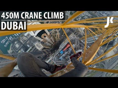 Dare devil Climbs the tallest residential building in the