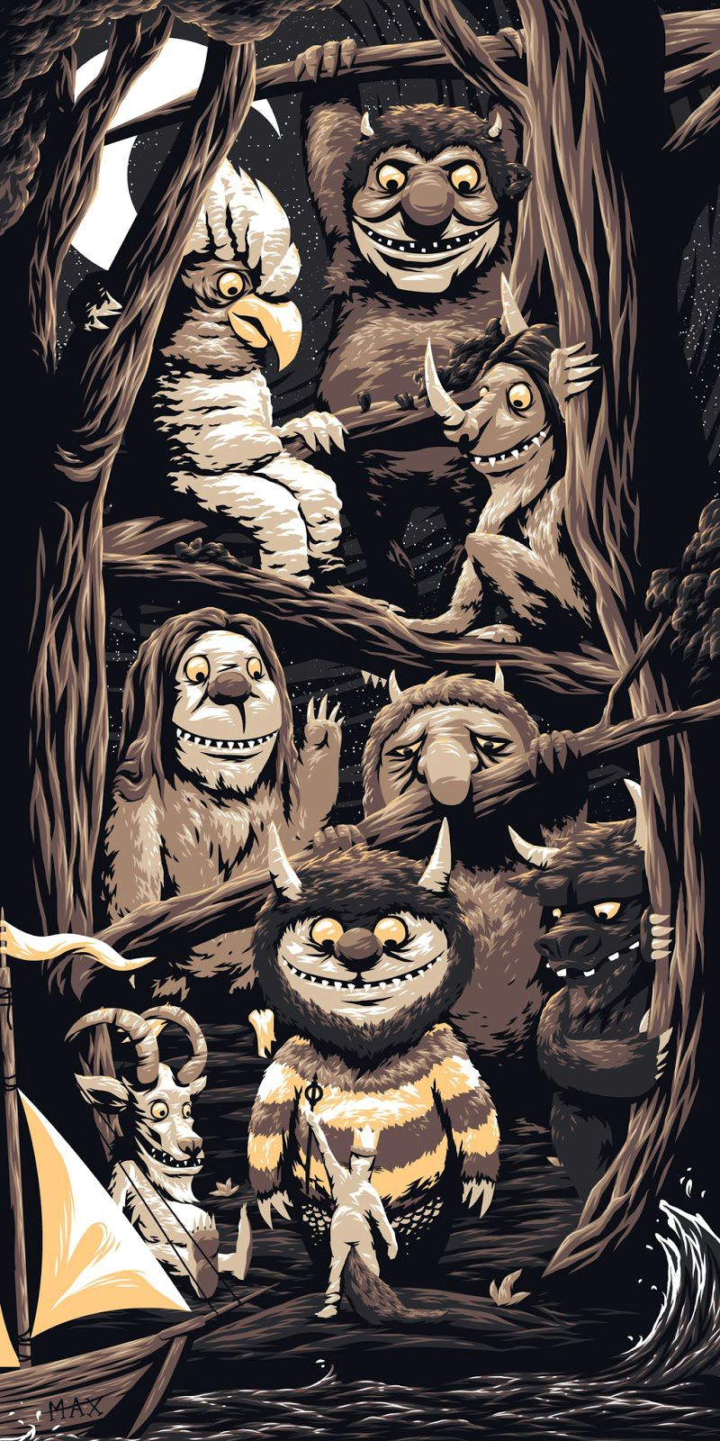 Where The Wild Things Are Let The Wild Rumpus Start