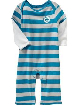 2-in-1 Graphic One-Pieces for Baby