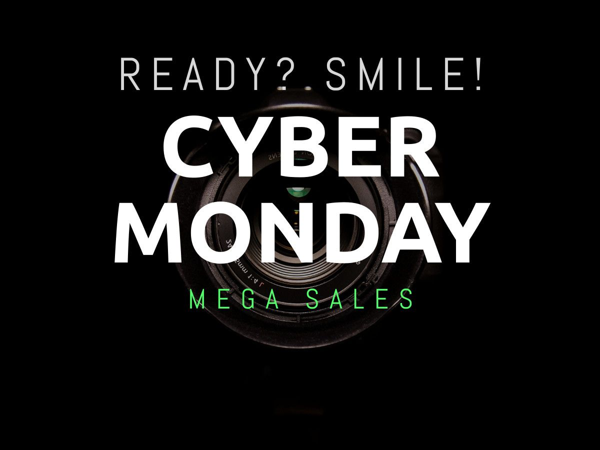 Cyber Monday Mega Sales Ad In 2020 Cyber Monday Ads Cyber Monday Sales Ads